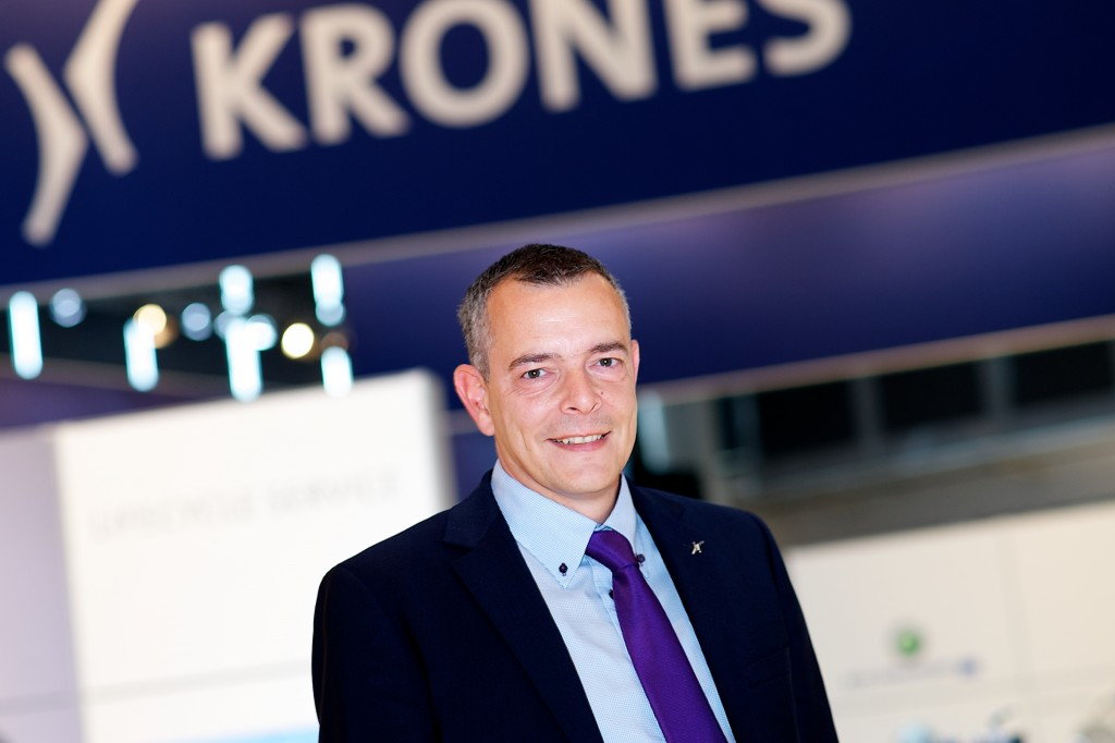 Carles Schmidt, Department Manager Creations and Live Events der Krones AG.