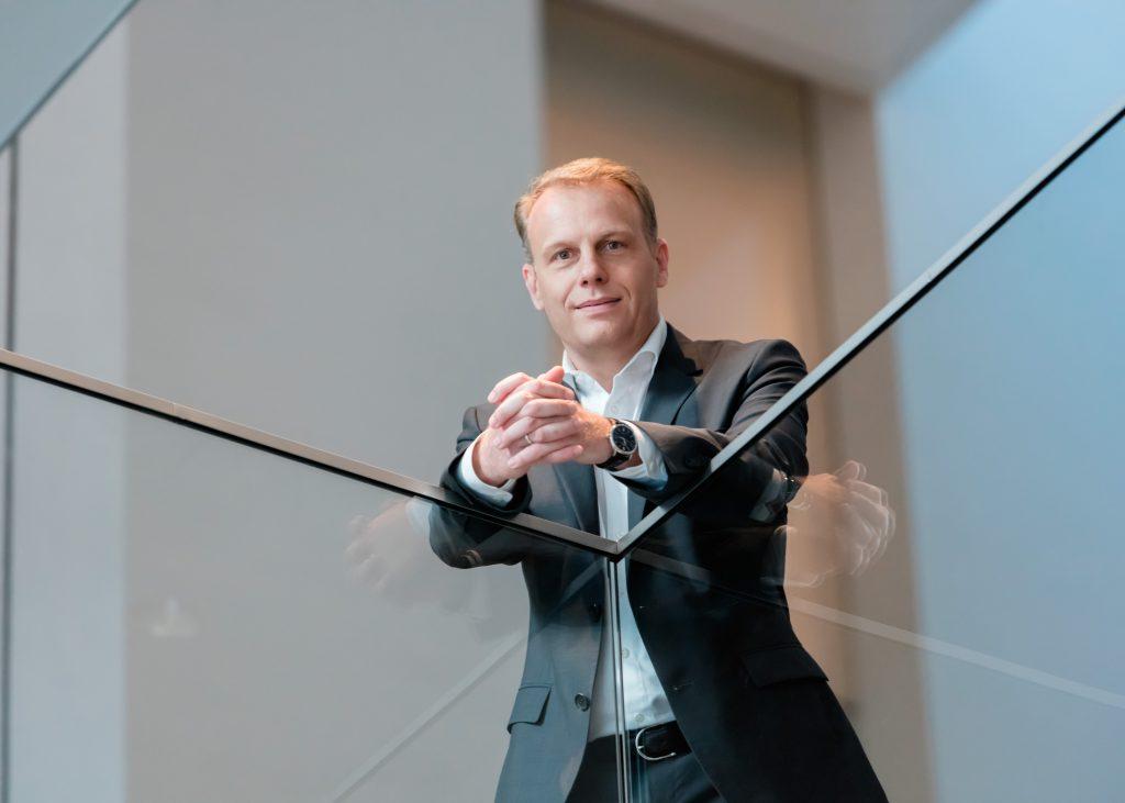 Schindler-Vorstand Michael Nilles. (c) Schindler